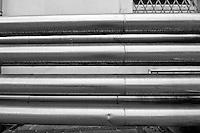 Galatina - Cantine Aperte 2010 - Azienda Agricola Valle dell'Asso - Tubi dell'impianto di raffreddamento.