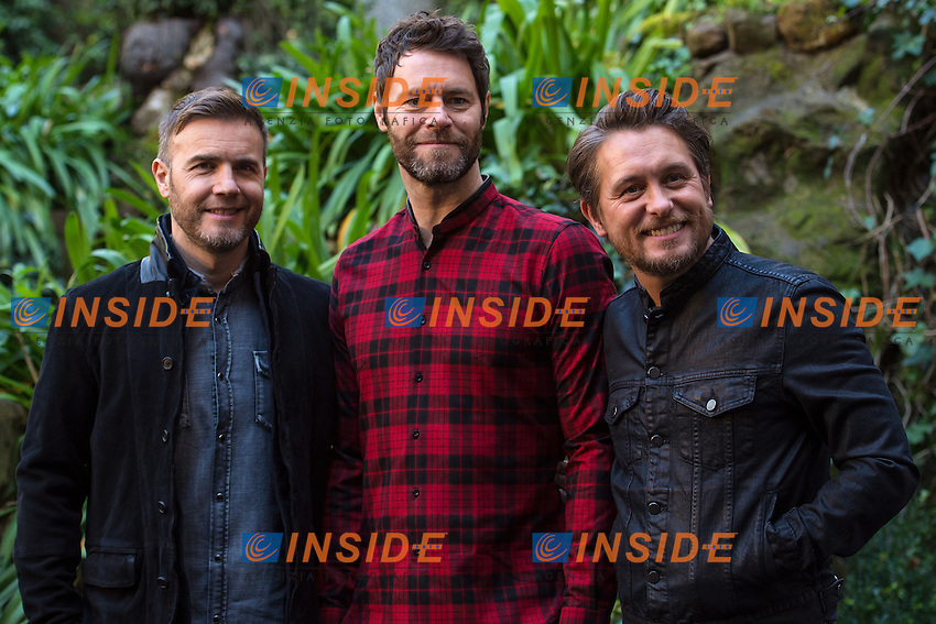 Gary Barlow, Howard Donald and Mark Owen of Take That <br /> Roma 02-02-2015 Hotel De Russie <br /> Kingsman Photocall <br /> Foto Andrea Staccioli / Insidefoto