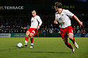 Michael Bostwick of Stevenage plays in Scot Laird. - Wycombe Wanderers v Stevenage - Adams Park, High Wycombe - 31st December 2011  .© Kevin Coleman 2011