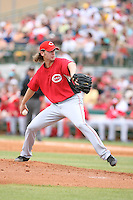 March 22nd 2008:  Bronson Arroyo of the Cincinnati Reds during a Spring Training game at Osceola County Stadium in Kissimmee, FL.  Photo by:  Mike Janes/Four Seam Images
