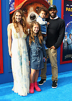 "6 January 2018 - Los Angeles, California - Allison Holker, Stephen 'tWitch' Boss and their children. ""Paddington 2"" L.A. Premiere held at the Regency Village Theatre. Photo Credit: AdMedia"