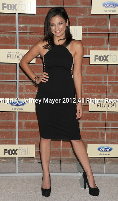 =Culver City=, CA - SEPTEMBER 10: Floriana Lima arrives at the FOX Fall Eco-Casino Party at The Bookbindery on September 10, 2012 in Culver City, California.