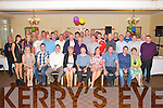 Retirement Party: Gerry Barry, Toornageehy, Listowel, centre front, celebrating his retirement after 30 years with Kerry Ingredients, at the Listowel arms Hotel on Friday night last.