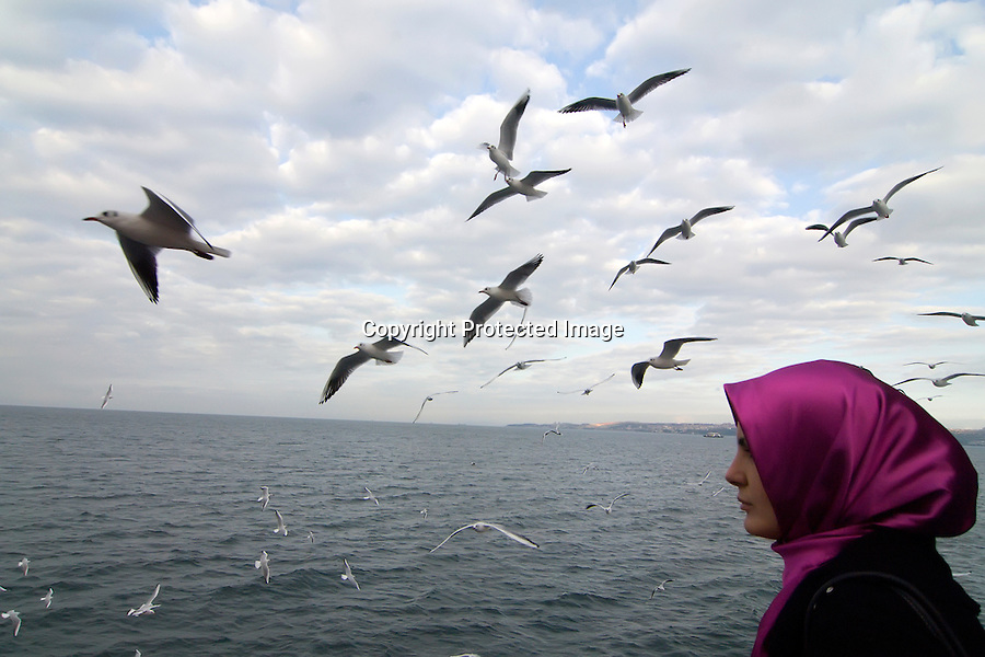 TURQUIA-ESTAMBUL.Ferry atravesando el Mar de Marmara hacia Bursa.foto JOAQUIN GOMEZ SASTRE©