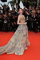 "CANNES, FRANCE. May 17, 2019: Guan Xiaotong at the gala premiere for ""Pain and Glory"" at the Festival de Cannes.<br /> Picture: Paul Smith / Featureflash"