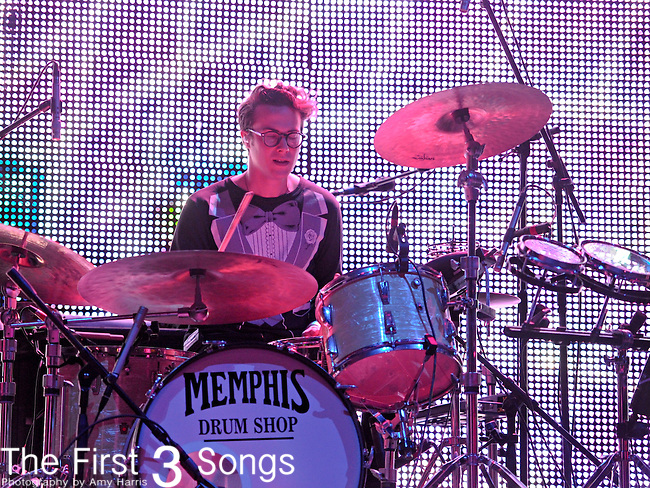 Will Berman of MGMT performs during the Beale Street Music Festival in Memphis, TN on April 29, 2011.