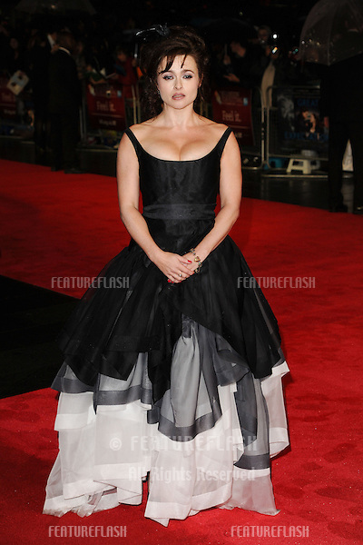 "Helena Bonham Carter at the premiere for ""Great Expectations"" being shown as the closing film of the London Film Festival 2012, Odeon Leicester Square, London. 21/10/2012 Picture by: Steve Vas / Featureflash"