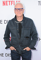 "29 March 2017 - Los Angeles, California - Malcolm McDowell.  Premiere Of Netflix's ""The Discovery"" held at The Vista Theater in Los Angeles. Photo Credit: Birdie Thompson/AdMedia"