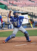 Francisco Alvarez participates in the MLB International Showcase at Estadio Quisqeya on February 22-23, 2017 in Santo Domingo, Dominican Republic.