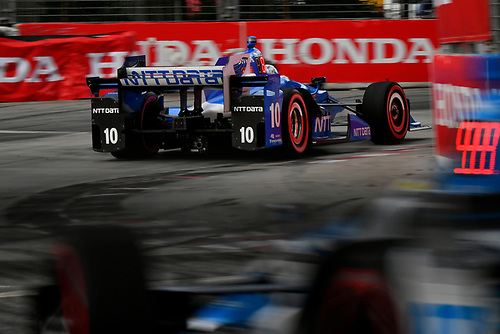 Verizon IndyCar Series<br /> Honda Indy Toronto<br /> Toronto, ON CAN<br /> Sunday 16 July 2017<br /> Tony Kanaan, Chip Ganassi Racing Teams Honda<br /> World Copyright: Scott R LePage<br /> LAT Images<br /> ref: Digital Image lepage-170716-to-4116