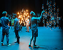 Sadler's Wells presents NO BODY, an immersive, experiental, series of installations by Associates Michael Hulls, Nitin Sawhney, Lucy Carter, Siobhan Davies and Russell Maliphant. Picture shows: Michael Hulls, Lighting Designer, in his installation, entitled LIGHT SPACE.