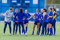 San Jose, CA - May 6, 2019: The USWNT trains in preparation for an international friendly.