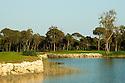 A general view of Antalya Golf Club - PGA Sultan Course, Belek, Turkey. Designed by David Jones/ European Golf Design. Picture Credit/ Phil Inglis