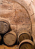 Wine barrels in the cellars of La Vieja Bodega in the La Rioja wine region of Spain. Photo by Kevin J. Miyazaki/Redux