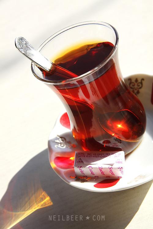 Çay. Tea. Images of Turkey.