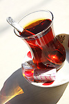 Çay. Tea. Images of Turkey.