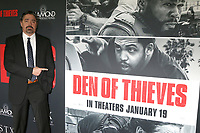 "LOS ANGELES - JAN 17:  Christian Gudegast at the ""Den of Thieves"" Premiere at Regal LA Live Theaters on January 17, 2018 in Los Angeles, CA"