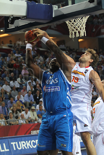 04.09.2010 Turkey, Istanbul. Basketball World Championships Spain v Greece. Picture shows MARC GASOL
