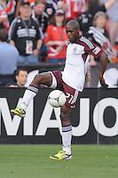 Colorado Rapids defender Luis Zapata (21)D.C. United defeated the Colorado Rapids 2-0 at RFK Stadium, Wednesday May 16, 2012.