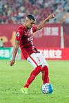 Guangzhou Forward Alan Douglas De Carvalho in action during the AFC Champions League 2017 Round of 16 match between Guangzhou Evergrande FC (CHN) vs Kashima Antlers (JPN) at the Tianhe Stadium on 23 May 2017 in Guangzhou, China. (Photo by Power Sport Images/Getty Images)