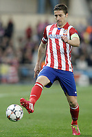 Atletico de Madrid's Gabi Fernandez during Champions League 2013/2014 match.March 11,2014. (ALTERPHOTOS/Acero)