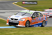 15th September 2017, Sandown Raceway, Melbourne, Australia; Wilson Security Sandown 500 Motor Racing; Aaren Russell (3) drives the Repair Management Australia Racing Holden Commodore VF during Supercars practice