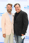 LOS ANGELES - MAY 15: Daniel Henning, Rick Baumgartner at The Actors Fund's Edwin Forrest Day celebration at a private residence on May 15, 2016 in Sherman Oaks, California