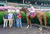 Corinthian Summer winning at Delaware Park on 8/9/15