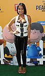 Christina Milian arriving at The Peanuts Movie premiere held at the Regency Village Theaters Los Angeles, CA. November 1, 2015