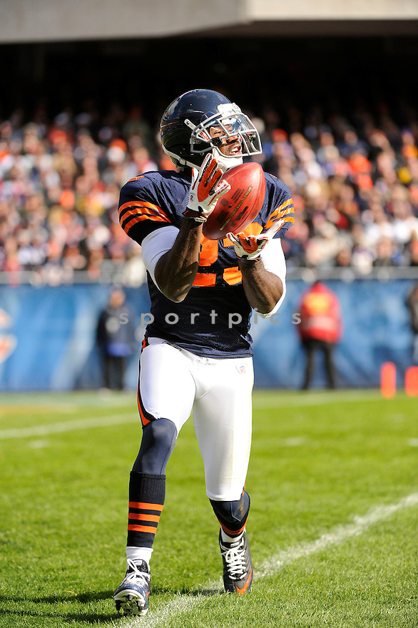 DEVIN HESTER, of the Chicago Bears, in action  during the Bears game against the Minnesota Vikings on November 14, 2010 at Soldier Field in Chicago, IL...Bears won 27-13..