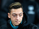 Arsenal's Mesut Ozil during the UEFA Champions League match at the Emirates Stadium, London. Picture date: 28th November 2019. Picture credit should read: David Klein/Sportimage