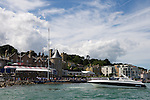 Big sky over Royal Yacht Squadron, Cowes 2013