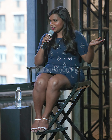 New York, NY - September 12 : Actress Mindy Kaling attends the AOL Build Speaker Series Presents : Mindy Kaling held at the AOL Studios in New York City on September 12, 2014 (Photo by Brent N. Clarke / MediaPunch)