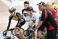 Masters Men Cat 2 Keirin at the Age Group Track National Championships, Avantidrome, Home of Cycling, Cambridge, New Zealand, Saturday, March 18, 2017. Mandatory Credit: © Dianne Manson/CyclingNZ  **NO ARCHIVING**
