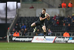 Ospreys wing Jeffrey Hassler claims the high ball.<br /> RaboDirect Pro12<br /> Ospreys v Munster<br /> Liberty Stadium<br /> 23.02.14<br /> <br /> &copy;Steve Pope-SPORTINGWALES