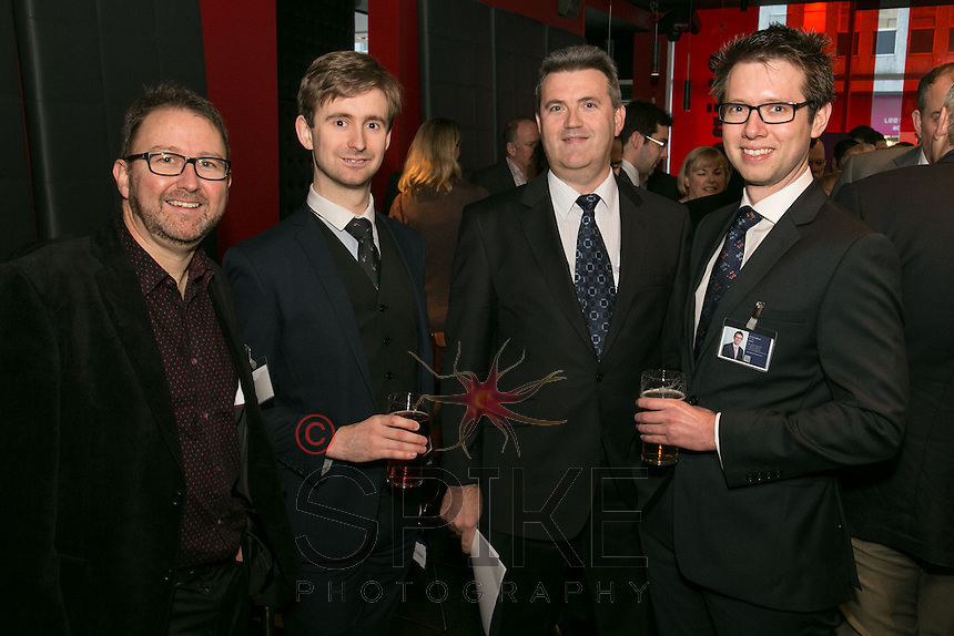 From left are Tim Ryan of Volute, Christopher Hartland of Potter Clarkson, Paul Emmerson of Smith Emmerson and Chris Cadman of Potter Clarkson