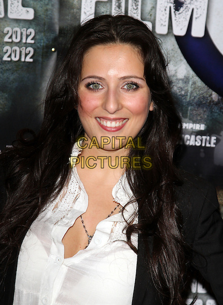 Rita Ramnani.Attending the UK Premiere of 'Airborne' the opening film of the British Independant Film Festival at the Empire, Leicester Square, London, England, .May 11th 2012..portrait headshot smiling  black jacket white shirt .CAP/ROS.©Steve Ross/Capital Pictures