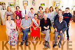 Pictured at the Palliative Care Unit, at Kerry General Hospital, Tralee on Friday as they met up with the reigning Rose of Tralee Maria Walsh. Front l-r: Kathleen Coleman, Fiona O'Connor, Stephen O'Connor, Maria Walsh, Joe Hutchinson and Ted Moynihan. Back l-r: Linda O'Connor, Daireen McMullin, Donal O'Callaghan, Carmel O'Connor, Mary Nolan, Mary Shanahan, Aine Moriarty, Patsy Power, Bridie O'Connor, Aine O'Connor and Oisin O'Connor.