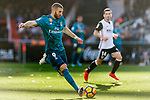 Karim Benzema of Real Madrid in action during the La Liga 2017-18 match between Valencia CF and Real Madrid at Estadio de Mestalla  on 27 January 2018 in Valencia, Spain. Photo by Maria Jose Segovia Carmona / Power Sport Images