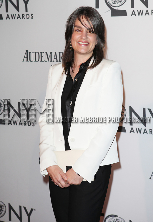 Pam MacKinnon pictured at the 66th Annual Tony Awards held at The Beacon Theatre in New York City , New York on June 10, 2012. © Walter McBride / WM Photography