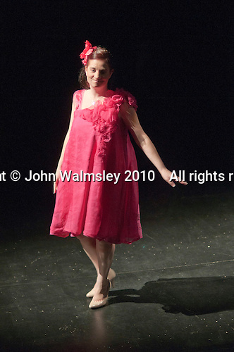 """Athletes from the Special Olympics team model clothes designed for them by fashion students from Kingston College. Special Olympics Surrey put on a show,   """"Beyond the Stars"""", at the Rose Theatre, Kingston upon Thames to raise money for the  SOGB team.  The Special Olympics are for athletes with learning disabilities."""