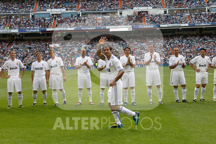 'Corzaon Classic, All for Africa'; friendly match Real Madrid vs Bayern Munchen veterans. Louis Figo...Photo: Cesar Cebolla / ALFAQUI