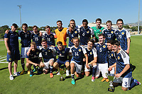 Scotland 3rd Placed Winners of the Toulon Tournament during Czech Republic Under-20 vs Scotland Under-20, Toulon Tournament Football at Stade de Lattre-de-Tassigny on 10th June 2017