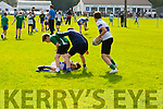 Enjoying the Tralee Rugby Club Family Fun Day at O'Dowd Park on Sunday