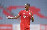 13th June 2020, Allianz Erena, Munich, Germany; Bundesliga football, Bayern Munich versus Borussia Moenchengladbach;  David Alaba (Bayern)