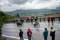Hubert Dupont (FRA/AG2R-La Mondiale)<br /> <br /> Stage 9 (ITT): Riccione to San Marino (34.7km)<br /> 102nd Giro d'Italia 2019<br /> <br /> ©kramon