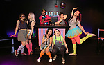 Top Row: Claire Autran, Azalea Lewis, Chris Costa, Dani Martineck, Leah Lane<br /> Bottom Row: Hui-Shan Yong, Maggie Metnick during The Dare Tactic production of 'A Roller Rink Temptation' at  WOW Cafe on May 25, 2018 in New York City.