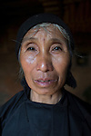 Hani of the ethnic Hmong tribe, Northern Vietnam.