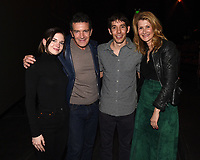 """Los Angeles - JANUARY 8: Stella Banderas, Antonio Banderas, Alex Honnold, and Laura Dern attend an IMAX screening of National Geographic's """"Free Solo"""" at the AMC Century City 15 on January 8, 2019 in Los Angeles, California. (Photo by Frank Micelotta/National Geographic/PictureGroup)"""