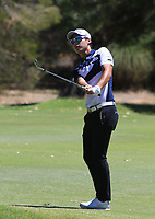 Yi-keun Chang (KOR) in action on the 1st during Round 3 of the ISPS Handa World Super 6 Perth at Lake Karrinyup Country Club on the Saturday 10th February 2018.<br /> Picture:  Thos Caffrey / www.golffile.ie<br /> <br /> All photo usage must carry mandatory copyright credit (&copy; Golffile | Thos Caffrey)